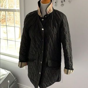 Burberry quilted car jacket